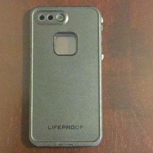 Life Proof 7 Plus black IPhone Case